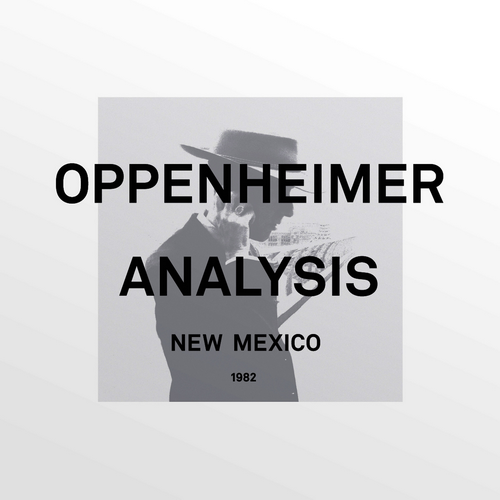 Synthpop / Minimal / New Wave) Oppenheimer Analysis - New Mexico